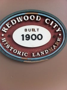Redwood City Historical Marker