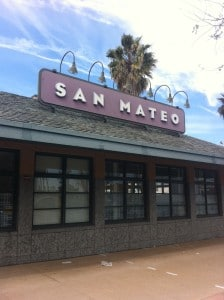 San Mateo Train Station 1
